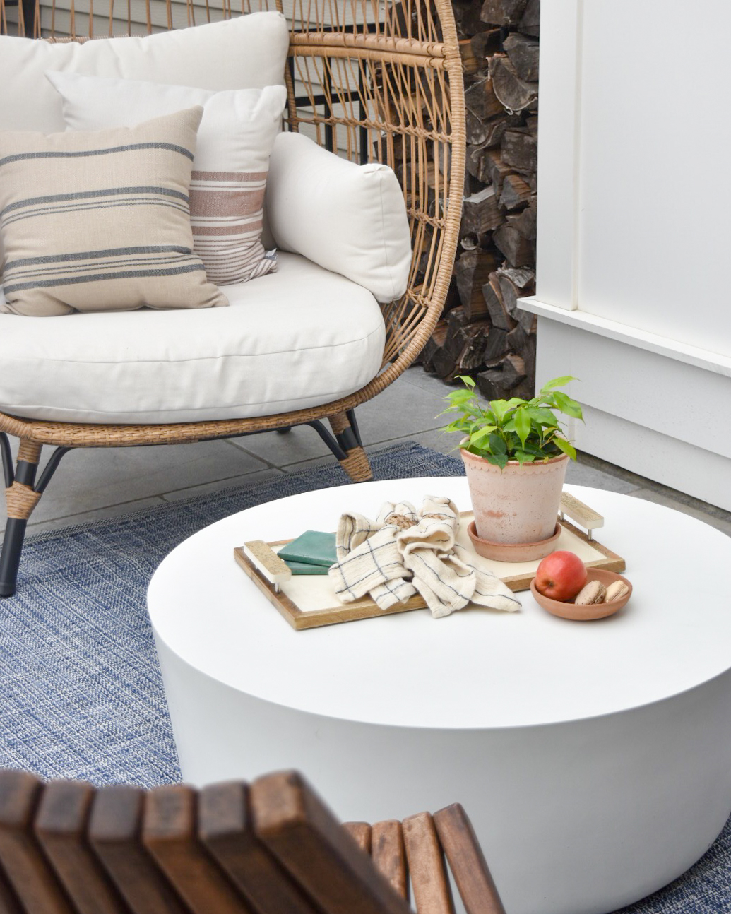 How to care for stone outdoor furniture